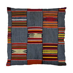 Strip Woven Cloth Standard Cushion Case (two Sides) by Jojostore