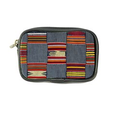 Strip Woven Cloth Coin Purse by Jojostore