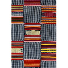 Strip Woven Cloth 5 5  X 8 5  Notebooks by Jojostore