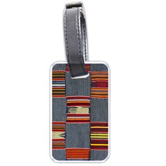 Strip Woven Cloth Luggage Tags (one Side)  by Jojostore