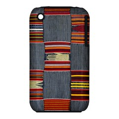 Strip Woven Cloth Iphone 3s/3gs by Jojostore