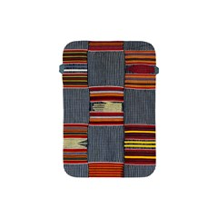 Strip Woven Cloth Apple Ipad Mini Protective Soft Cases by Jojostore