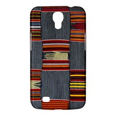 Strip Woven Cloth Samsung Galaxy Mega 6 3  I9200 Hardshell Case by Jojostore