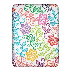 Texture Flowers Floral Seamless Samsung Galaxy Tab 4 (10 1 ) Hardshell Case  by Jojostore