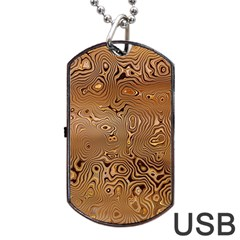 Circuit Board Dog Tag Usb Flash (one Side) by Amaryn4rt