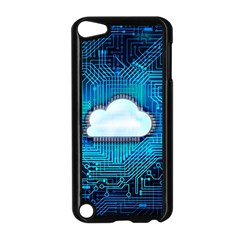 Circuit Computer Chip Cloud Security Apple Ipod Touch 5 Case (black)
