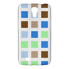 Colorful Green Background Tile Pattern Samsung Galaxy Mega 6 3  I9200 Hardshell Case by Amaryn4rt