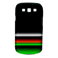 Colorful Neon Background Images Samsung Galaxy S Iii Classic Hardshell Case (pc+silicone) by Amaryn4rt