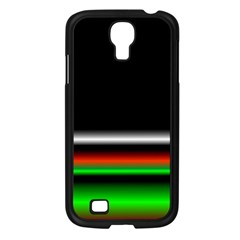 Colorful Neon Background Images Samsung Galaxy S4 I9500/ I9505 Case (black)