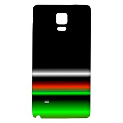 Colorful Neon Background Images Galaxy Note 4 Back Case