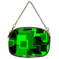 Cyber Glow Chain Purses (two Sides)