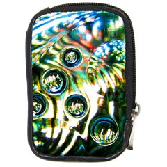 Dark Abstract Bubbles Compact Camera Cases by Amaryn4rt