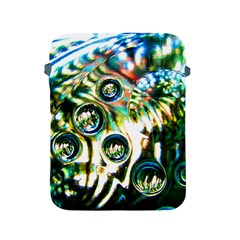 Dark Abstract Bubbles Apple Ipad 2/3/4 Protective Soft Cases by Amaryn4rt