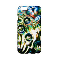 Dark Abstract Bubbles Apple Iphone 6/6s Hardshell Case by Amaryn4rt