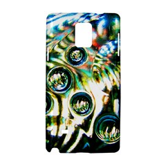 Dark Abstract Bubbles Samsung Galaxy Note 4 Hardshell Case