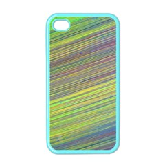 Diagonal Lines Abstract Apple Iphone 4 Case (color) by Amaryn4rt