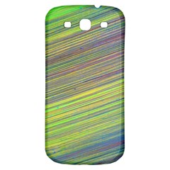 Diagonal Lines Abstract Samsung Galaxy S3 S Iii Classic Hardshell Back Case by Amaryn4rt