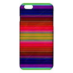 Fiesta Stripe Colorful Neon Background Iphone 6 Plus/6s Plus Tpu Case