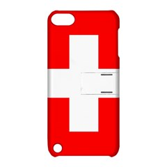 Flag Of Switzerland Apple Ipod Touch 5 Hardshell Case With Stand by Amaryn4rt