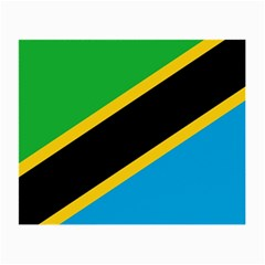 Flag Of Tanzania Small Glasses Cloth by Amaryn4rt