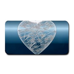 Frozen Heart Medium Bar Mats by Amaryn4rt