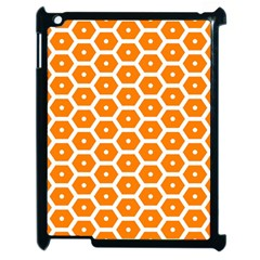 Golden Be Hive Pattern Apple Ipad 2 Case (black) by Amaryn4rt