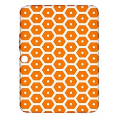 Golden Be Hive Pattern Samsung Galaxy Tab 3 (10 1 ) P5200 Hardshell Case
