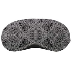 Gray Psychedelic Background Sleeping Masks