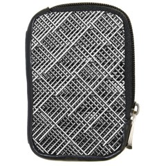 Grid Wire Mesh Stainless Rods Rods Raster Compact Camera Cases by Amaryn4rt