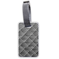 Grid Wire Mesh Stainless Rods Rods Raster Luggage Tags (one Side)