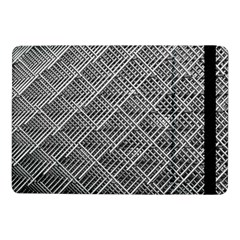 Grid Wire Mesh Stainless Rods Rods Raster Samsung Galaxy Tab Pro 10 1  Flip Case by Amaryn4rt