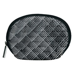 Grid Wire Mesh Stainless Rods Rods Raster Accessory Pouches (medium)  by Amaryn4rt