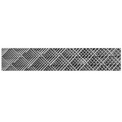 Grid Wire Mesh Stainless Rods Rods Raster Flano Scarf (large) by Amaryn4rt