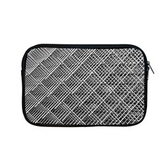 Grid Wire Mesh Stainless Rods Rods Raster Apple Macbook Pro 13  Zipper Case by Amaryn4rt