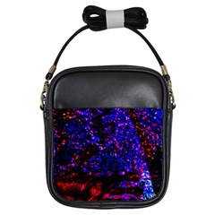 Grunge Abstract Girls Sling Bags by Amaryn4rt