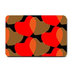 Heart Pattern Small Doormat  by Amaryn4rt