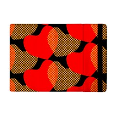 Heart Pattern Apple Ipad Mini Flip Case by Amaryn4rt
