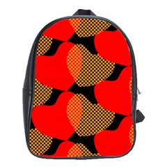 Heart Pattern School Bags (xl)  by Amaryn4rt