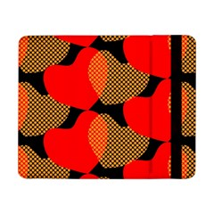 Heart Pattern Samsung Galaxy Tab Pro 8 4  Flip Case by Amaryn4rt
