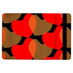 Heart Pattern Ipad Air Flip by Amaryn4rt