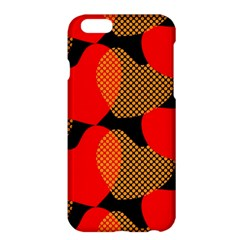 Heart Pattern Apple Iphone 6 Plus/6s Plus Hardshell Case by Amaryn4rt