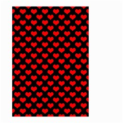 Love Pattern Hearts Background Small Garden Flag (two Sides) by Amaryn4rt