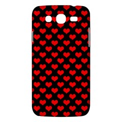 Love Pattern Hearts Background Samsung Galaxy Mega 5 8 I9152 Hardshell Case  by Amaryn4rt