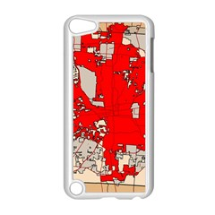 Map Of Franklin County Ohio Highlighting Columbus Apple Ipod Touch 5 Case (white) by Amaryn4rt