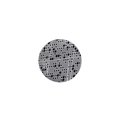 Metal Background Round Holes 1  Mini Buttons by Amaryn4rt