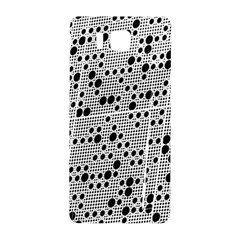 Metal Background Round Holes Samsung Galaxy Alpha Hardshell Back Case by Amaryn4rt