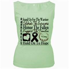 Sickle Cell Is Me Women s Green Tank Top by shawnstestimony