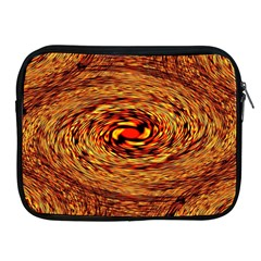 Orange Seamless Psychedelic Pattern Apple Ipad 2/3/4 Zipper Cases by Amaryn4rt