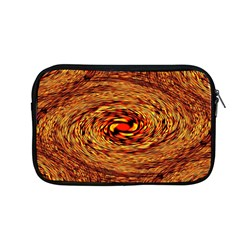 Orange Seamless Psychedelic Pattern Apple Macbook Pro 13  Zipper Case