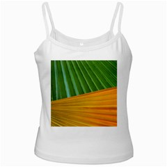Pattern Colorful Palm Leaves Ladies Camisoles